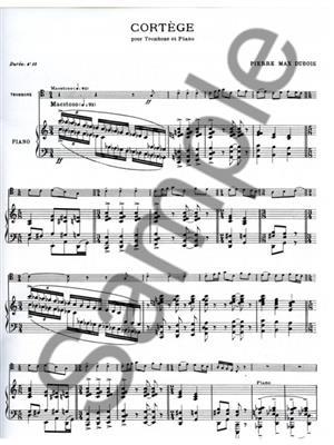 Pierre-Max Dubois: Cortege: Trombone