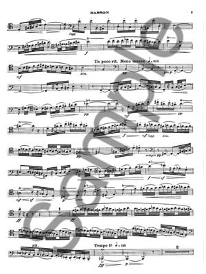 Jacques Castérède: Fileuse: Bassoon