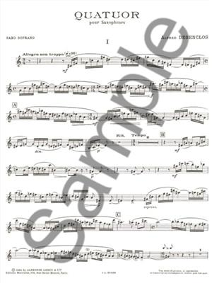 Quatuor : Saxophone Ensemble