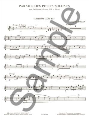 Bozza: Parade Des Petits Soldats: Saxophone