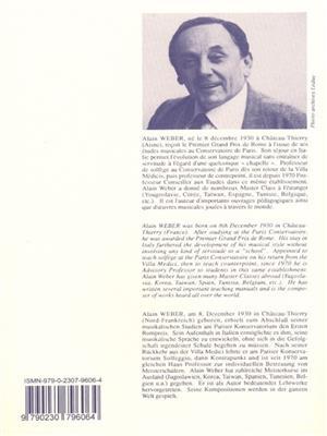 Alain Weber: Progressive lessons of reading and rhythm - Vol. 4: Books on Music
