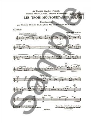 Pierre-Max Dubois: 3 Mousquetaires: Wind Ensemble