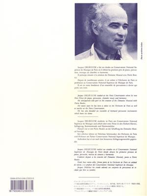 Jacques Delécluse: 20 Etudes pour Timbales: Timpani