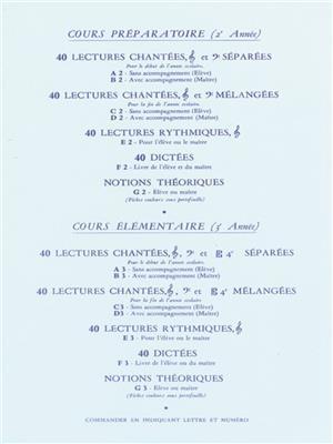 Henri Vachey: 50 Singing Exercises (C1): All Instruments