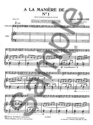 Jacques Delécluse: A La Maniere De N01: Snare Drum