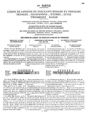 Lafosse: Methode 3: Trombone