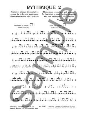 Yvon Le Prev: Yvon Le Prev: Rythmique Vol.2: Books on Music