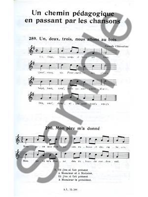 Jacotte Ribière-Raverlat: Chemin Pédagogique En Passant Par Les Chansons V.3: Recorder