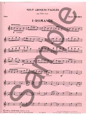 Henri Vachey: Henri Vachey: Romance: Flute