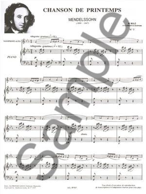 Marcel Mule: Famous Pieces For Alto Saxophone and Piano Vol. 2: Saxophone