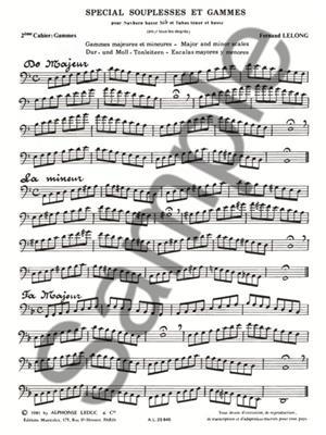 Fernand Lelong: Fernand Lelong: Special Souplesses et Gammes: Tuba