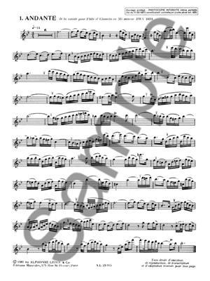 Johann Sebastian Bach: 20 Etudes De Style: Recorder