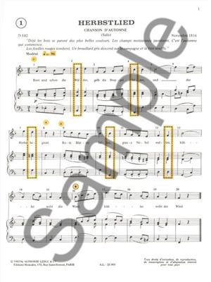 Michelle-Odile Gillot: Apprendre et Comprendre En Chantant Schumann: Vocal