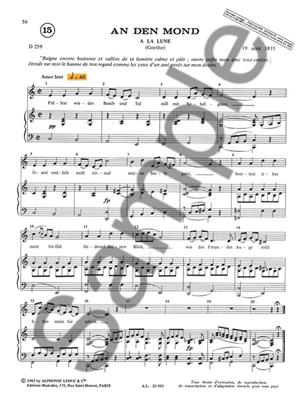 Michelle-Odile Gillot: Apprendre et Comprendre en Chantant Schubert Vol.3: Vocal