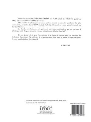 Creton: Carillon De Dunkerque: Recorder Ensemble