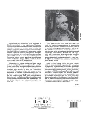 Edison Denisov: Sonate: Bassoon