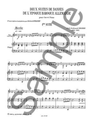 Richard Stelton: 2 Suites de Danses de LEpoque Baroque Allemande: Horn