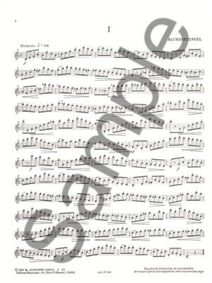 Jean-Marie Londeix: Nouvelles Études Variées dans tous les Tons: Saxophone
