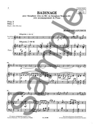 Michel Delguidice: Michel Delguidice: Badinage: Saxophone