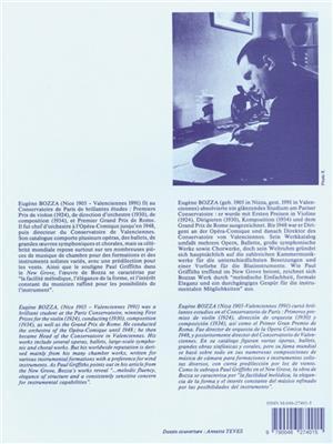 Eugène Bozza: 3 Evocations: Flute