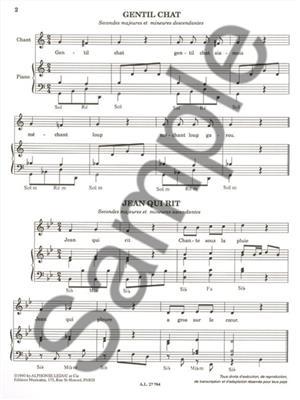Huber: The Children Sing...the intervals: Vocal