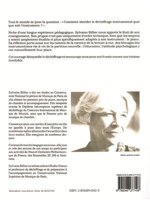 Sylvaine Billier: Deciphering the art of the first interpretation: Books on Music