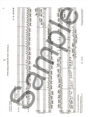 Johann Sebastian Bach: Oeuvres Complètes Pour Orgue Volume 1: Organ