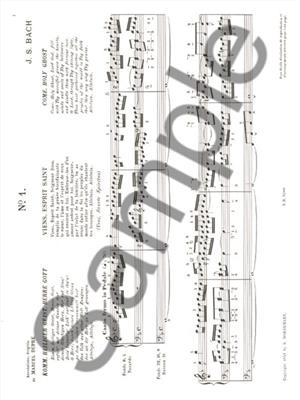 Johann Sebastian Bach: Oeuvres Complètes Pour Orgue Volume 9: Organ