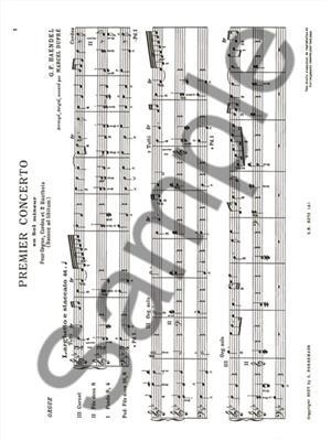 Georg Friedrich Händel: 16 Concertos Vol.1: Organ