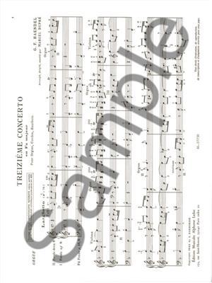 Georg Friedrich Händel: 16 Concertos Vol.3: Organ