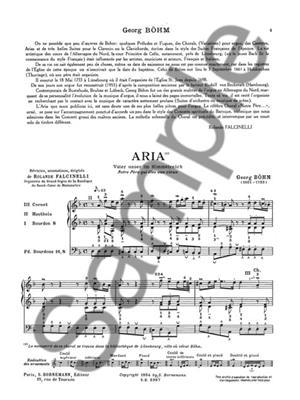 Johann Georg Böhm: Aria Vater Unser Im Himmelreich: Organ
