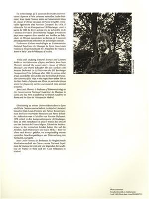 Jean-Louis Florentz: Debout Sur Le Soleil: Organ