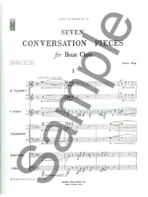 Robert King: 7 Conversation Pieces: Brass Ensemble