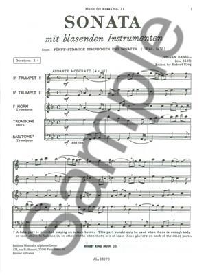 Kessel: Sonata: Brass Ensemble
