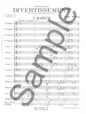 De Young: Divertissement: Brass Ensemble