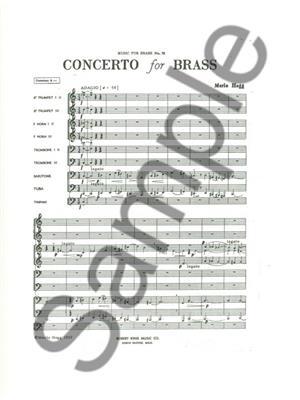 Hogg: Concerto For Brass: Brass Ensemble