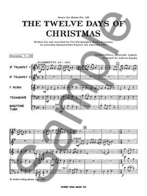 Andrew Kazdin: 12 Days Of Christmas: Brass Ensemble