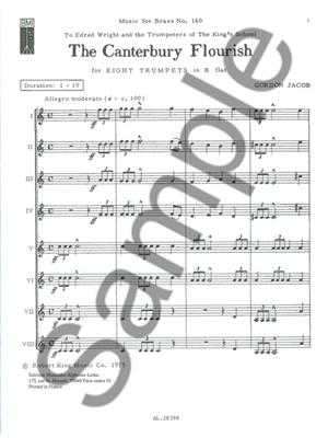 Gordon Jacob: Gordon Jacob: The Canterbury Flourish: Trumpet Ensemble