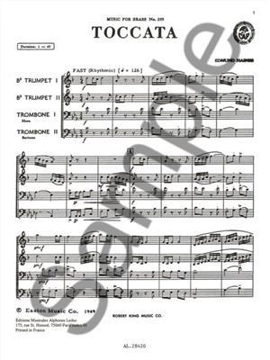 Haines: Toccata: Brass Ensemble