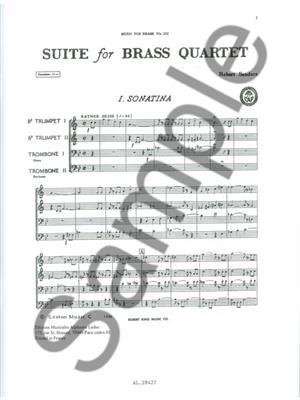 Sanders: Suite: Brass Ensemble