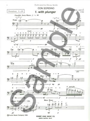 Gryc: Con Sordino: Trombone