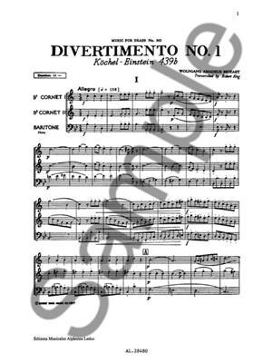 Wolfgang Amadeus Mozart: Divertimento: Brass Ensemble