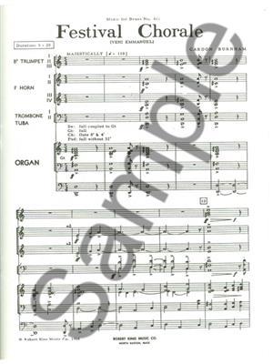 Burnham: Festival Chorale: Brass Ensemble