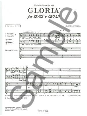 Pinkham: Gloria-From Sinfonia Sacra: Brass Ensemble