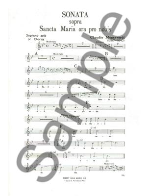 Claudio Monteverdi: Sonata Sopra Sancta Maria: Brass Ensemble