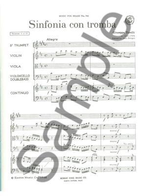 Giuseppe Torelli: Sinfonia con Tromba: String Ensemble