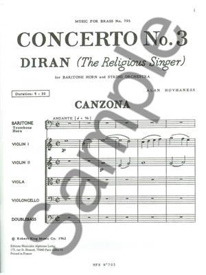Alan Hovhaness: Alan Hovhaness: Concerto No.3: Trombone