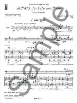 William Bardwell: William Bardwell: Sonata: Tuba