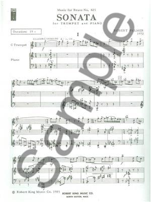 Palmer: Sonata: Trumpet, Cornet or Flugelhorn