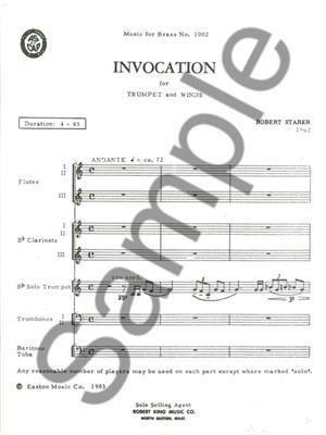 Robert Starer: Invocation: All Instruments